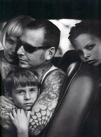 Social Distortion's Mike Ness Family with Tattoos #Music