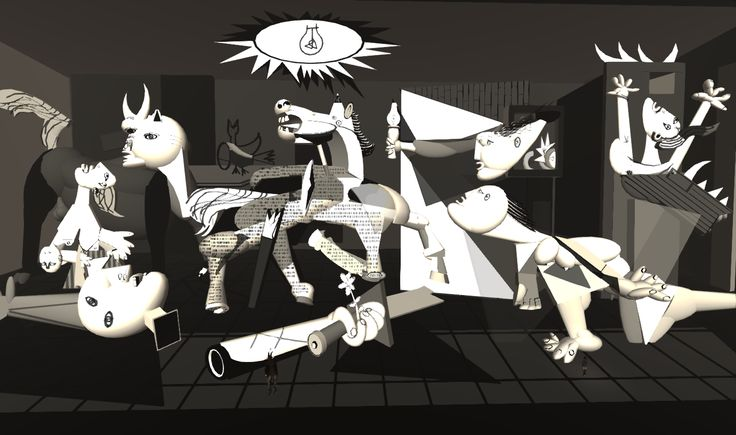 picasso guernica style Guernica, 1937 by pablo picasso, neoclassicist & surrealist period cubism,  surrealism allegorical  styles  pablo picasso/ guernica.