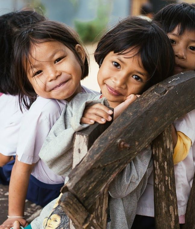 """Thailand::""""Look at children. Of course they may quarrel, but generally speaking they do not harbor ill feelings as much or as long as adults do. Most adults have the advantage of education over children, but what is the use of an education if they show a big smile while hiding negative feelings deep inside? Children don't usually act in such a manner. If they feel angry with someone, they express it, and then it is finished. They can still play with that person the following day."""" ― Dalai…"""