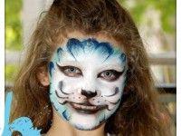 Maquillaje infantil paso a paso: Gato