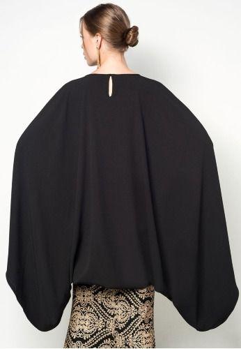 Cape top - back