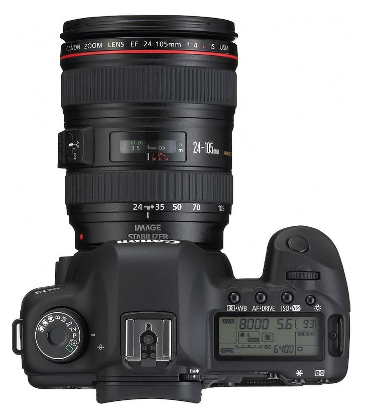 Canon 5D Mk2 with 24-105mm