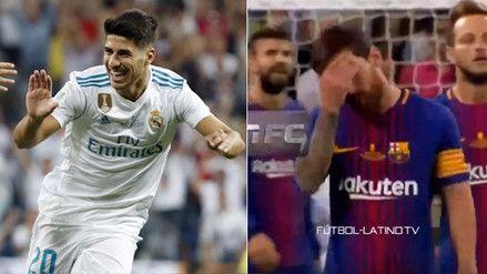 YouTube | Messi evidenció su frustración tras el golazo de Asensio ante Barcelona - RPP