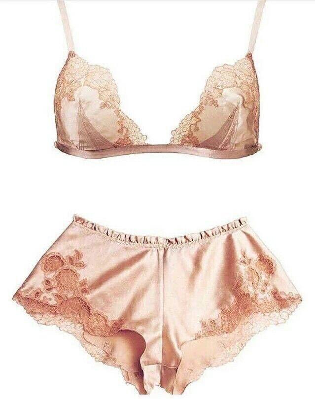 rose lingerie set | @itscameronchu
