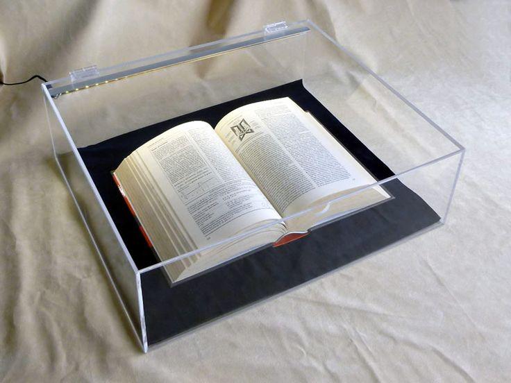 teca plexiglass con illuminazione led