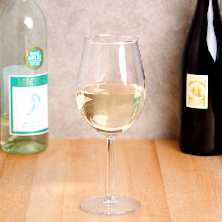 GET SW-1446-CL 15 oz. Tritan Plastic White Wine GlassFROM WEBSTAURANT.COM