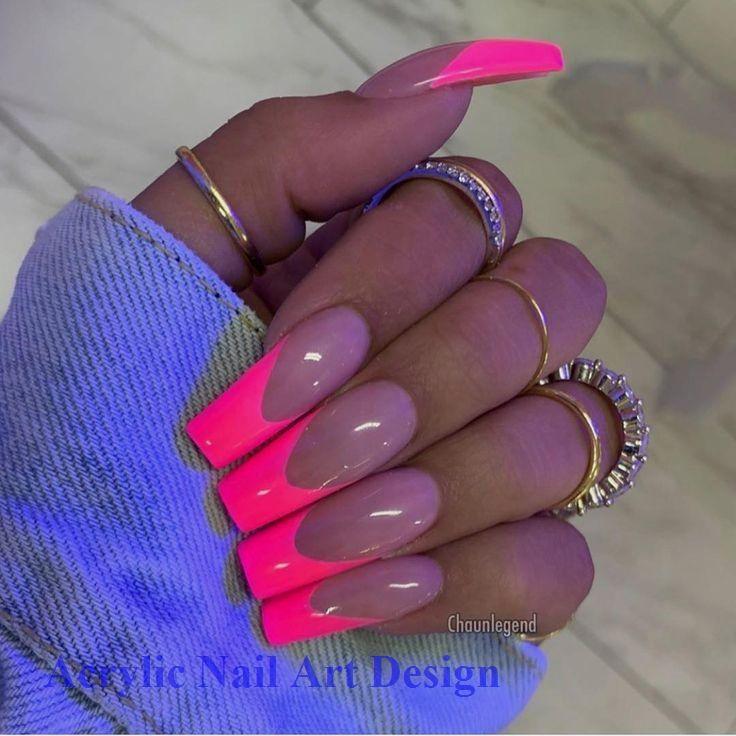 20 ideas geniales para hacer uñas de acrílico por ti mismo 1 #nailart #acrylic