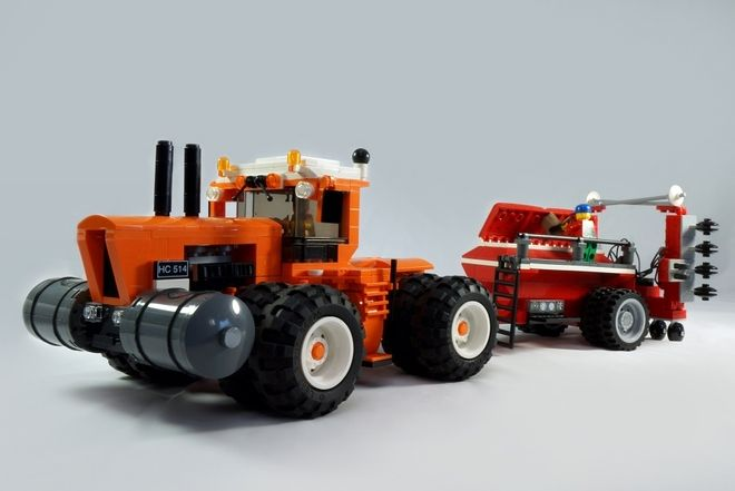 LEGO Ideas - Tractor & Planter 2