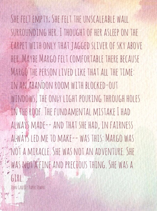 Letter from Margo