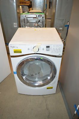 "Whirlpool WGD8740DW 27"" White Front-Load Gas Dryer NOB #20082"