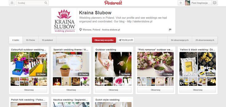 przepiękne inspiracje weselne: http://www.pinterest.com/krainaslubow/