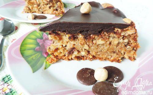 """Мегаореховый торт """"Грильяж""""   Кулинарные рецепты от «Едим дома!»"""