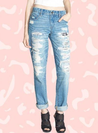 The Best Boyfriend Jeans Under $100, According To The Internet+#refinery29