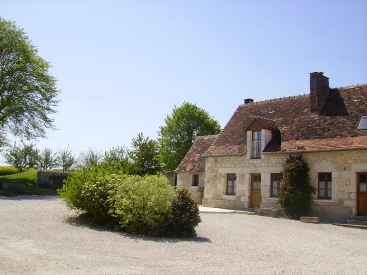 Bed and Breakfast in St Senoch in Touraine between Ligueil and Loches (with its medieval city). It takes place in the countryside on a farm. Tables with farm's products.