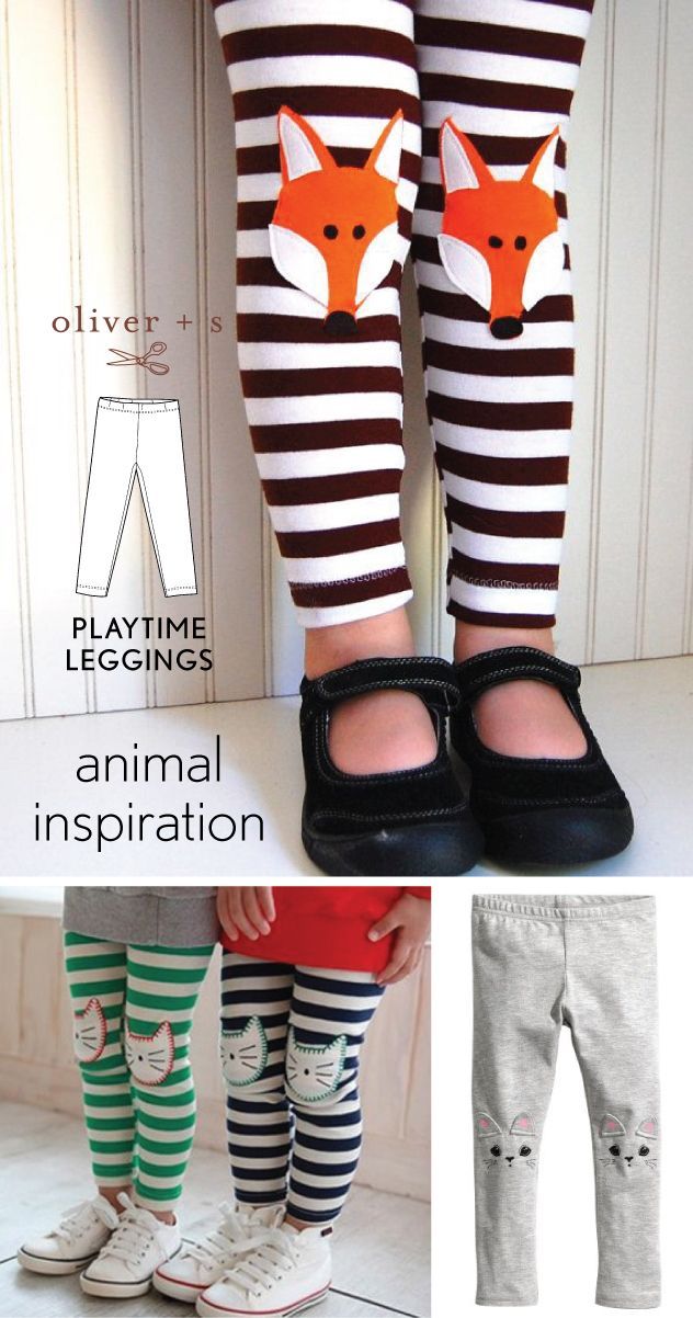 Here is some animal inspiration for Kids Clothes Week for the optional wild things theme.