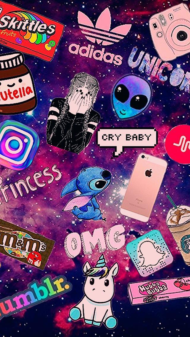 Mon Super Fond D Ecran Emoji Wallpaper Iphone Unicorn Wallpaper Wallpaper Iphone Cute
