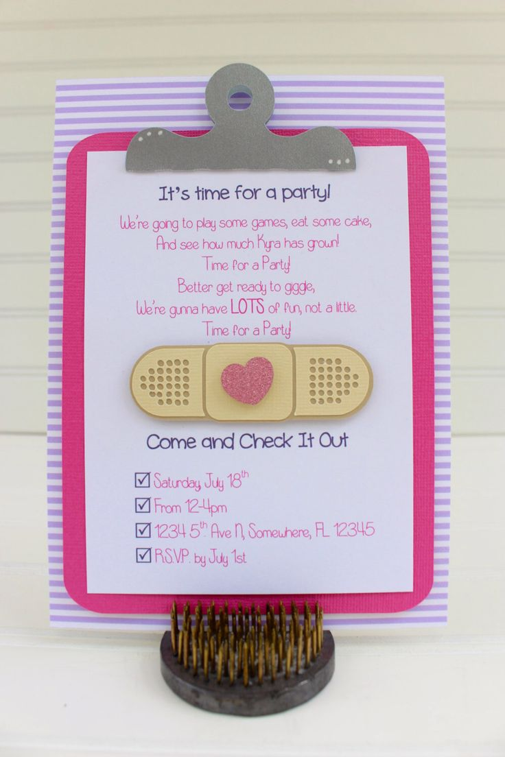 144 Best Doc Mcstuffins Party Images On Pinterest Birthday Party