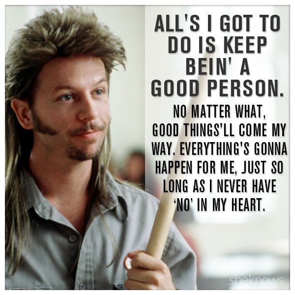 7 Pieces of life advice from Joe Dirt that are surprisingly spot-