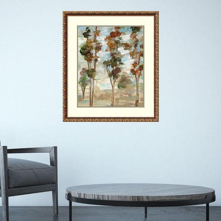 Amanti Art Serene Forest III Framed Wall Art, Multicolor