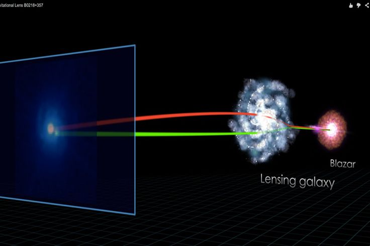 NASA telescope witnesses intense space radiation bending around galaxy The measurement of gamma rays, the most energetic form of radiation, might help in understanding black holes say astronomers. http://www.csmonitor.com/Science/2014/0107/NASA-telescope-witnesses-intense-space-radiation-bending-around-galaxy