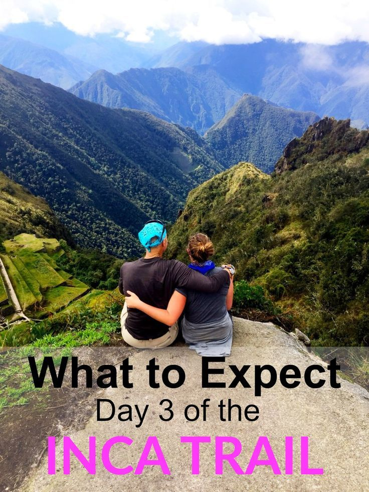 Hiking the Inca Trail on Day 3 was the prettiest day by far, but the longest! It was exciting to know we were that much closer to Machu Picchu! Here's what to expect day 3 of the #incatrail | Traveling Spud