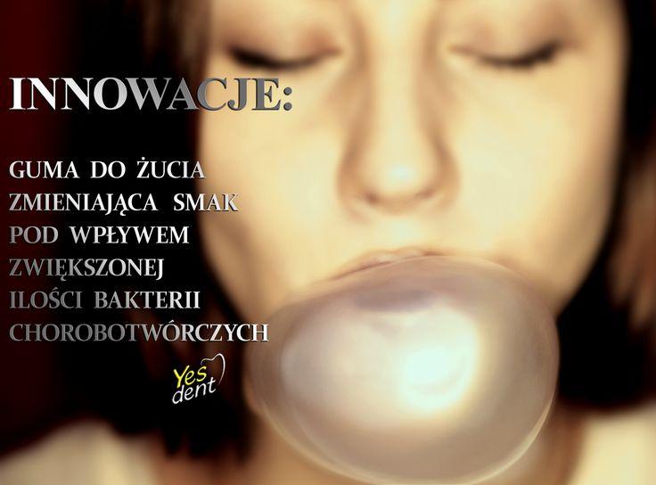 Diagnostyczna guma do żucia zmieniająca smak na skutek wystąpienia stanu zapalnego w jamie ustnej. http://yesdent.pl/ #yesdent #stomatolog #dentysta #dentystawroclaw #stomatologwroclaw #guma