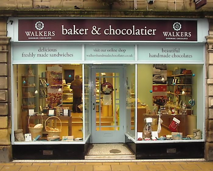 Walkers Chocolate Shop Front