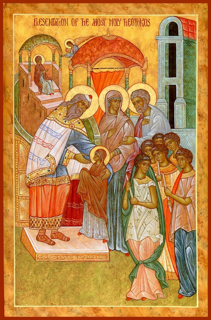 Presentation of the Theotokos in the Temple by Michael Kapeluck