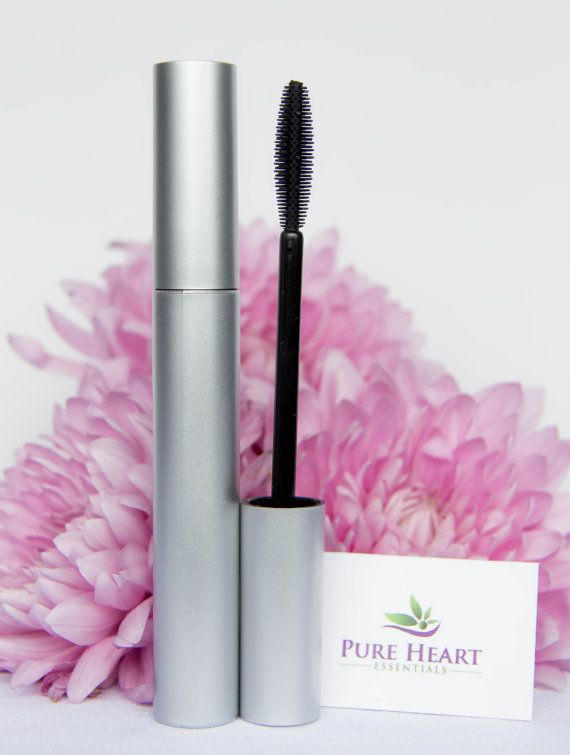 Luscious lashes, the all-natural way. Our innovative mascara gives you defined, volumized and longer looking lashes.  #Mascara #Black #Brown #Natural #Lashes #Handmade #Vegan #PureHeartEssentials