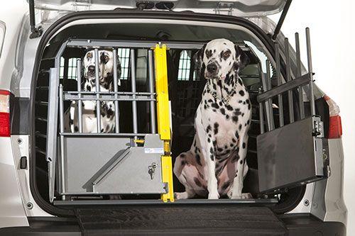Crash safe!!  MIM Safe Variocage Double | 2 Dog Crate | Two Dog Travel Crate | J & J Dog Supplies