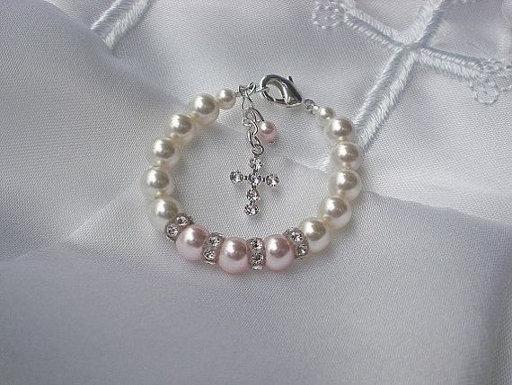 Hey, I found this really awesome Etsy listing at http://www.etsy.com/listing/130560275/baby-bracelet-baptism-first-communion