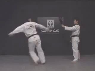 Those are some speedy kicks!