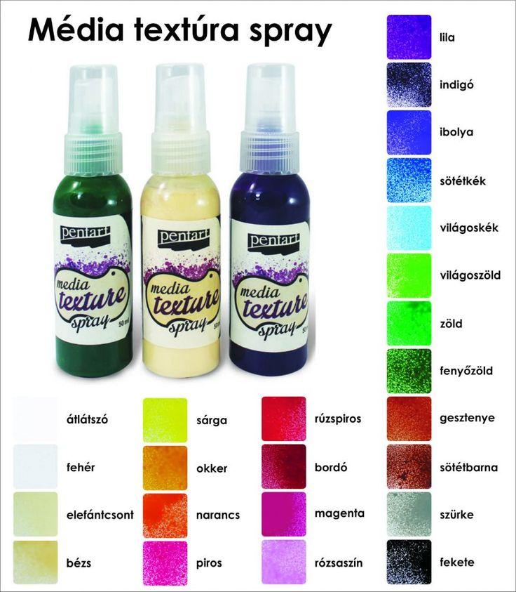 Média textúra spray Pentart