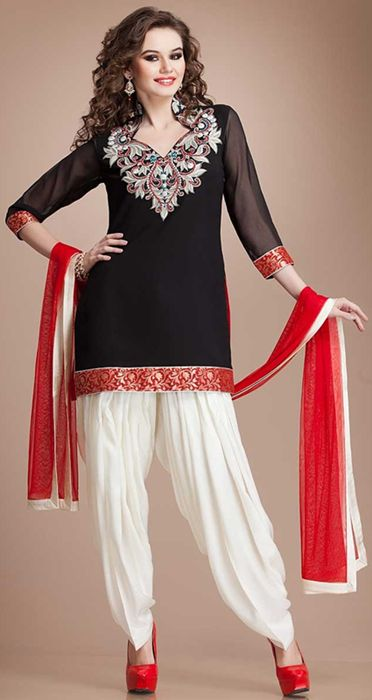 designer punjabi salwar suits 2014 party - Google Search