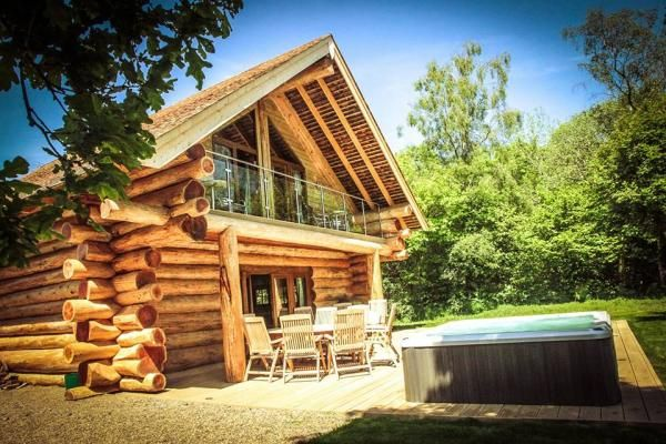 Hidden River Cabins Luxury Log Cabins With Hot Tubs