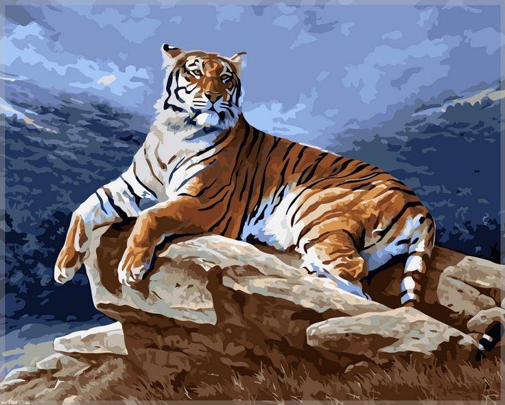 картина по номерам тигр - Поиск в Google | Картина с ...