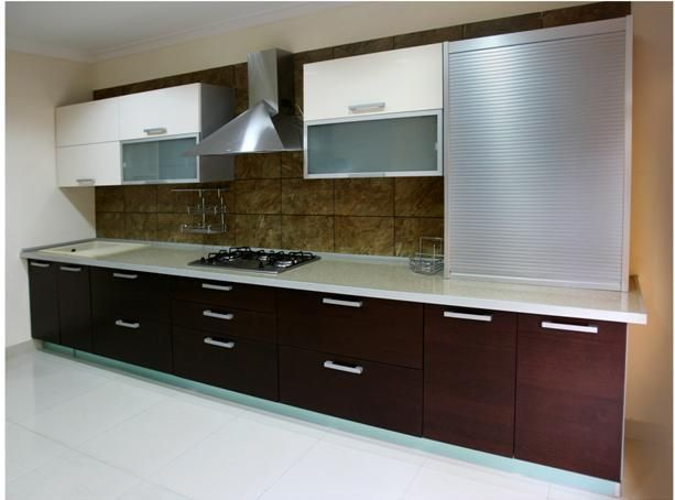 10 images about kitchen cabinets on pinterest faucet for Latest modern kitchen design in india