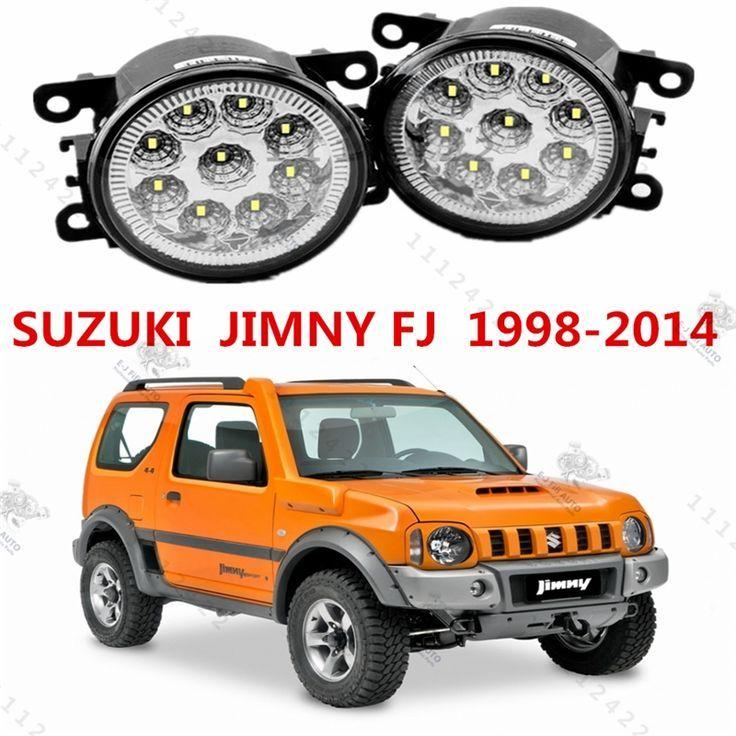 Cool Suzuki 2017 - 22.87$  Watch here - for SUZUKI JIMNY (FJ)1998-2015 for front bumper high bright... Check more at http://24car.cf/my-desires/suzuki-2017-22-87-watch-here-for-suzuki-jimny-fj1998-2015-for-front-bumper-high-bright/