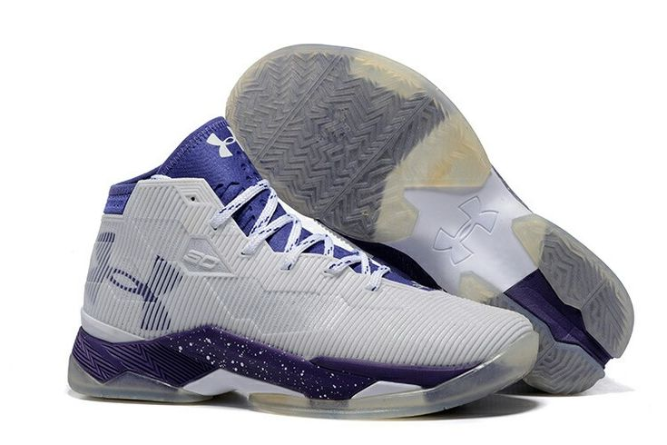 under armour curry 2 grey purple