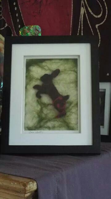 Leaping Hare, emmasfeltworks