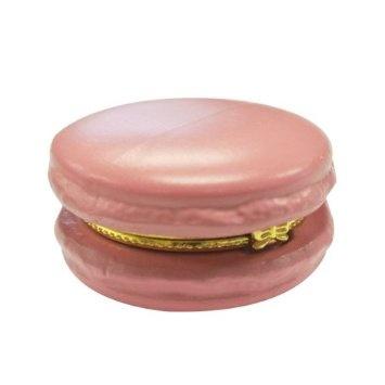 Amazon.com: Ceramic Macaron Limoge Trinket Box (Rose): Home & Kitchen