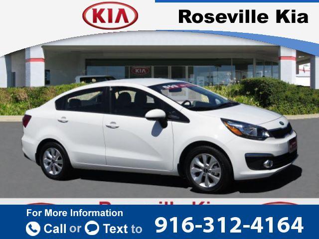 2016 *Kia*  *Rio* *EX*  10k miles Call for Price 10901 miles 916-312-4164 Transmission: Automatic  #Kia #Rio #used #cars #RosevilleKia #Roseville #CA #tapcars