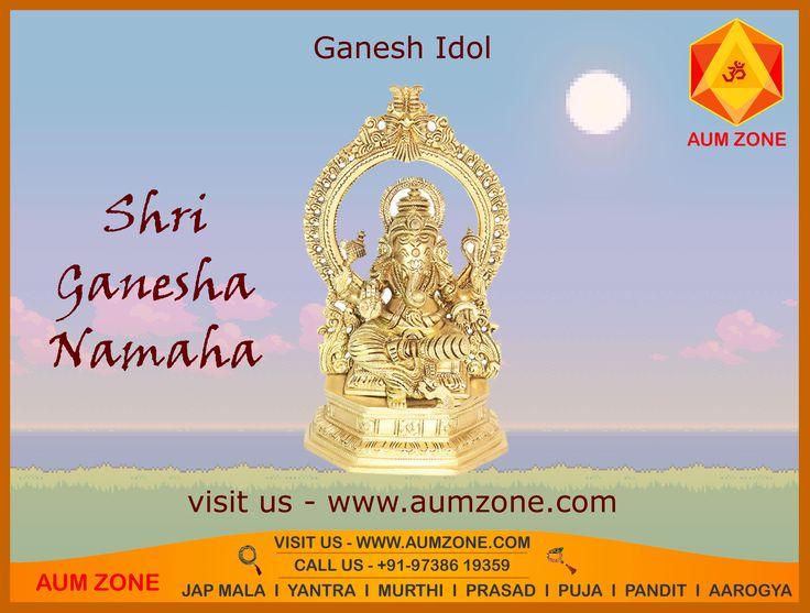 #Ganesh #Arched #idol from Aumzone. www.aumzone.com