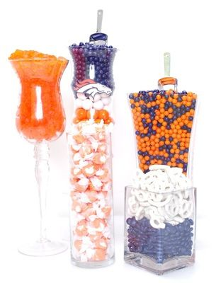 Denver Broncos Candy Buffet Kit