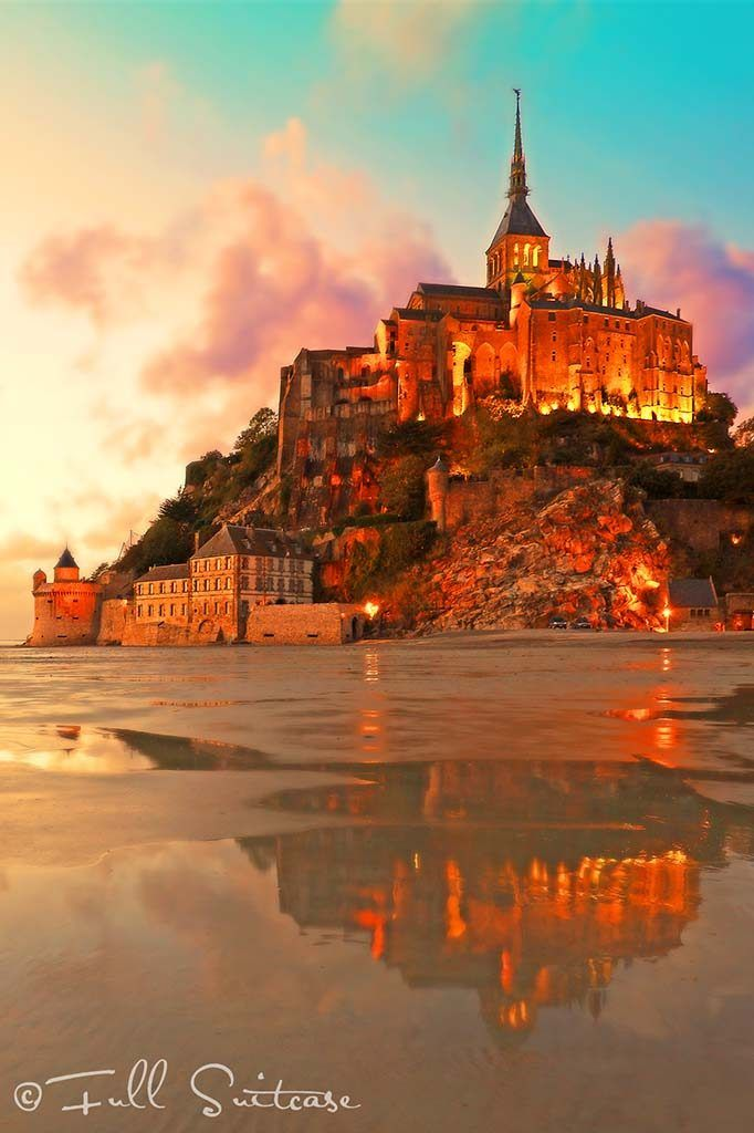 Mont St. Michel in Normandy, France. Our secret tip for unique experience! Find out...