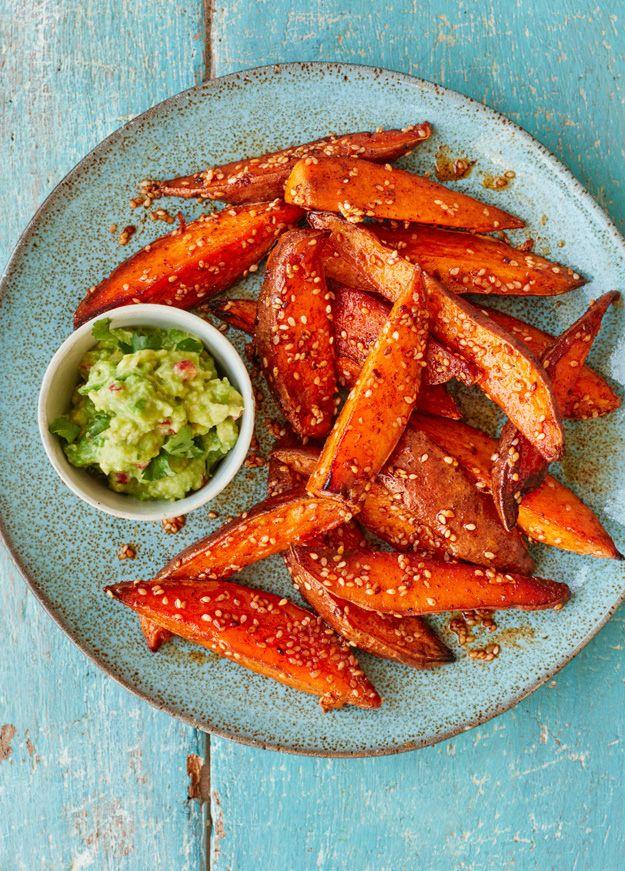 Asda Good Living | Sweet potato fries with avocado dip