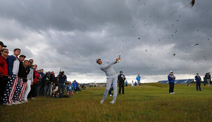 British Open Friday: Dustin Johnson Stays on Top#  British Open Friday: Dustin Johnson Stays on Top#