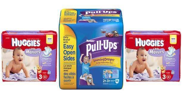 HOT! Huggies & Pull-Ups Jumbo Packs Just $1.00/Each!