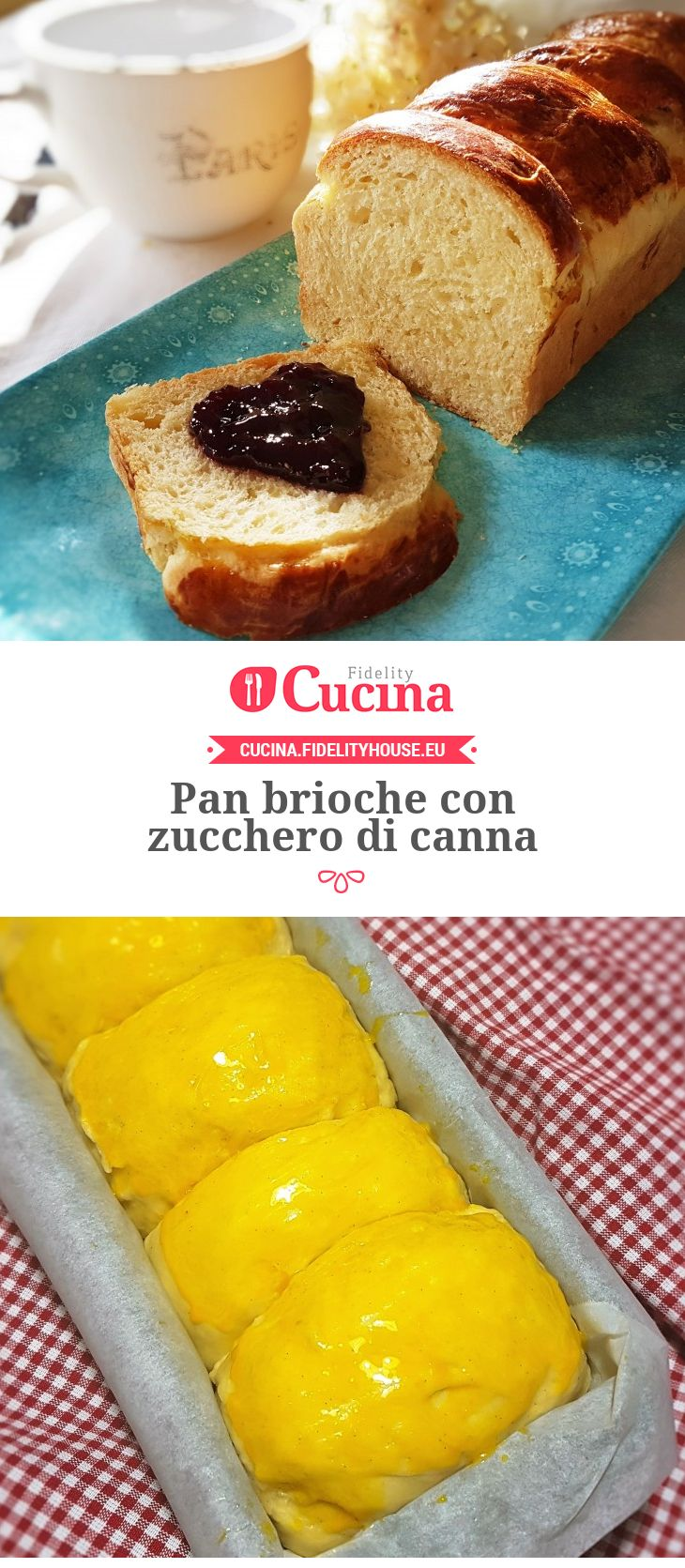 Pan #brioche con zucchero di canna della nostra utente Grazia. Unisciti alla nostra Community ed invia le tue ricette!