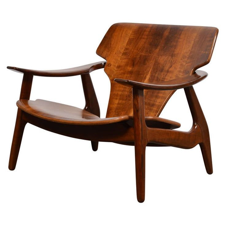 """""""Diz"""" Chair by Sergio Rodrigues 
